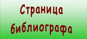 Страница библиографа
