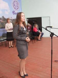 Картавцева Анастасия, 1 место