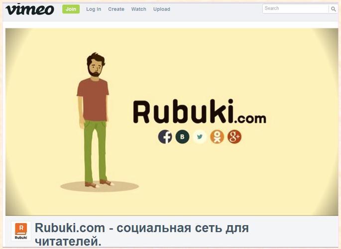 Социальная сеть для читателей