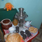 традиционный русский стол