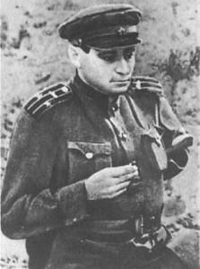 В.П. Катаев в годы ВОвойны