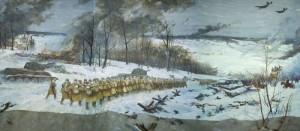 Е. Данилевский Контрнаступление советских войск под Москвой фрагмент