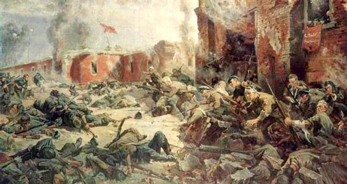 П.Кривоногов Защитники Брестской крепости