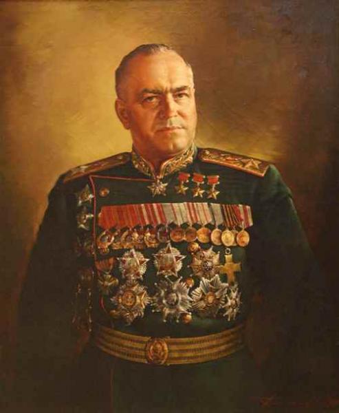 Присекин С.Н. Портрет Г.К. Жукова