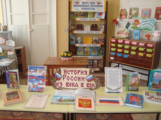 книжные выставки по истории россии в библиотеке