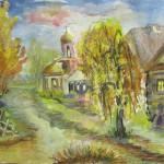 22-Сумкина Алла, Октябрьский рассвет