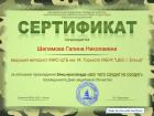 Certificate for Шеламова Галина Николаевна for _Солдат не солдат без награды!_
